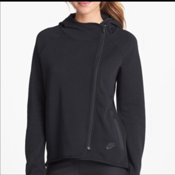 Nike Jackets & Blazers - Nike Sportswear Tech Fleece Full Zip Cape Black 1X